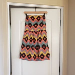 Rachel Roy Women's Size 6 Strapless Pink Dress